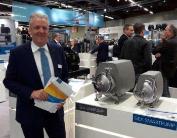 MArtin Zickler präsentiert die Smart- und Varipump-Baureihen