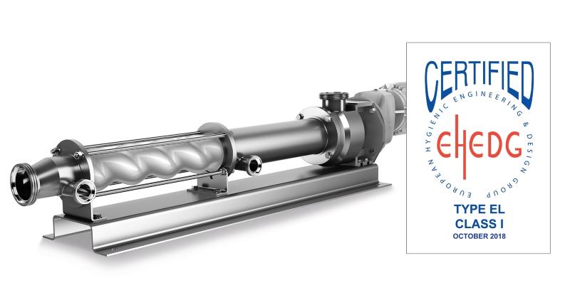 Tidssvarende Seepex erhält neuestes EHEDG-Zertifikat für neue Pumpe – Delta p IO-48